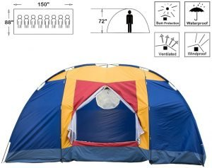 Outdoor 8 Person Tent
